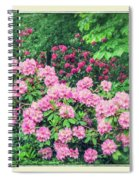 Romantic Rhododendrons Spiral Notebook
