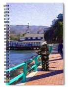 Romantic Stroll Spiral Notebook