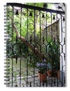 Romantic Yard Spiral Notebook