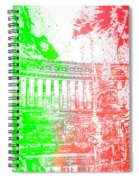 Rome - Altar Of The Fatherland Colorsplash Spiral Notebook