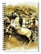 Rome Chariot  Spiral Notebook