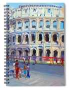Rome Colosseum Spiral Notebook