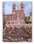 Rome-piazza Di Spagna Spiral Notebook