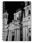 Rome - Piazza Navona - A View 3 Spiral Notebook