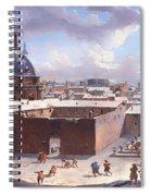 Rome Under The Snow Spiral Notebook
