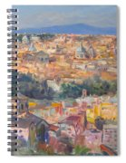Rome View From Gianicolo Spiral Notebook