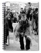 Romeiros Pilgrims Spiral Notebook