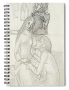 Romeo And Juliet, With Friar Lawrence Spiral Notebook