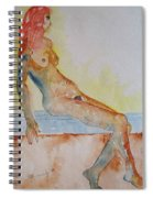 Romy - Seated Spiral Notebook