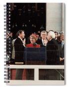 Ronald Reagan Inauguration - 1981 Spiral Notebook