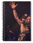 Ronnie Romero 10 Spiral Notebook
