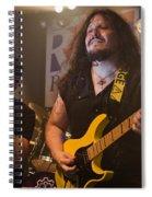 Ronnie Romero 12 Spiral Notebook