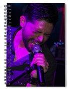Ronnie Romero 20 Spiral Notebook