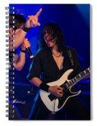 Ronnie Romero 36 Spiral Notebook