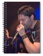 Ronnie Romero 4 Spiral Notebook