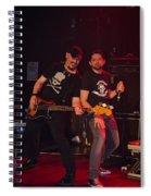 Ronnie Romero 40 Spiral Notebook