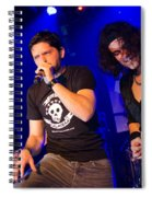 Ronnie Romero 43 Spiral Notebook