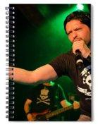 Ronnie Romero 46 Spiral Notebook