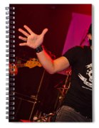 Ronnie Romero 47 Spiral Notebook