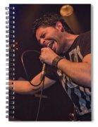 Ronnie Romero 5 Spiral Notebook