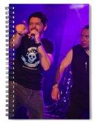 Ronnie Romero 56 Spiral Notebook