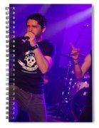 Ronnie Romero 57 Spiral Notebook