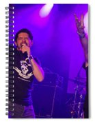 Ronnie Romero 63 Spiral Notebook