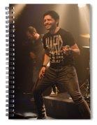 Ronnie Romero 8 Spiral Notebook