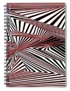 Rood Der Spiral Notebook
