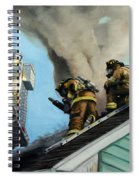 Roof Is Open Spiral Notebook