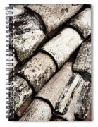 Roof Tile Abstract Spiral Notebook