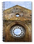 Roofless Church Abbazia Di San Galgano Spiral Notebook