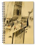 Roofs And Steeple Spiral Notebook
