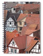 Roofs Of Bad Sooden-allendorf Spiral Notebook