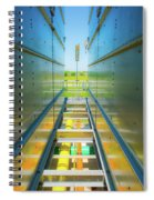 Rooftop Piping Spiral Notebook