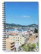 Rooftops Of Ibiza 4 Spiral Notebook