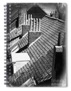 Rooftops Of Belgium Gothic Style Spiral Notebook