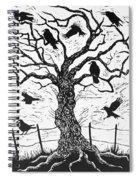 Rook Tree Spiral Notebook