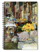Room Of Flowers, 1894 Spiral Notebook