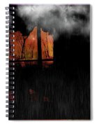 Room With Clouds Spiral Notebook