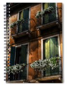 Rooms With A View Spiral Notebook