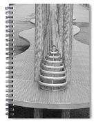 Roosevelt Island  Bench I Spiral Notebook