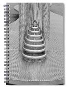 Roosevelt Island  Bench Spiral Notebook