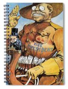 Roosevelt/mckinley Cartoon Spiral Notebook