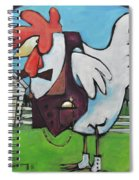Rooster And Hen House Spiral Notebook