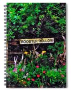 Rooster Hollow Spiral Notebook