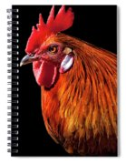 Rooster Pride Spiral Notebook