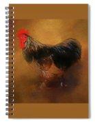 Rooster Strut Spiral Notebook
