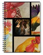 Roosters Spiral Notebook