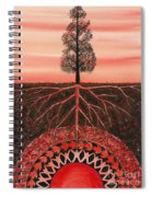 Root Chakra Spiral Notebook